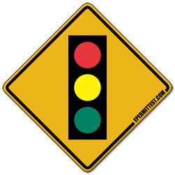 Traffic Signals For Driving Test >> Traffic Signal Ahead | Warning Road Signs