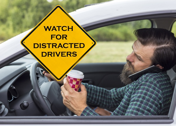 Beware of Distracted Drivers