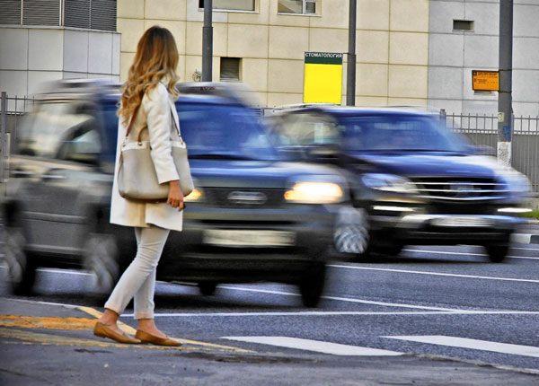 Reglas de Derecho de Paso para Peatones