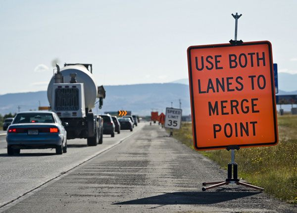 Choosing the Right Lane