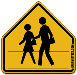 School Crossing Ahead