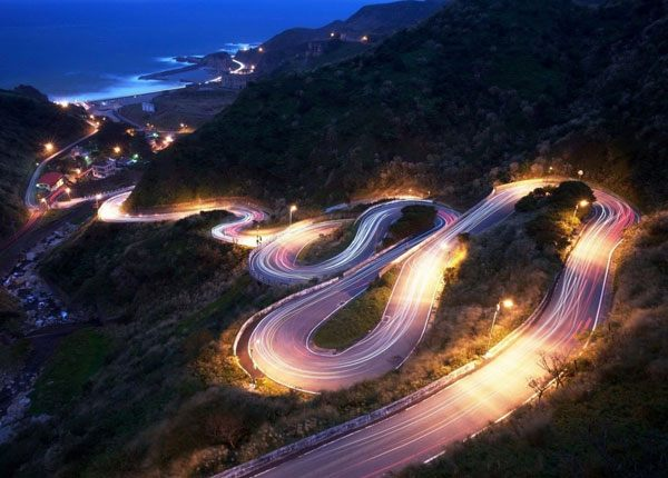 Driving Through Curves & Hills