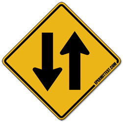 Two Way Traffic Ahead