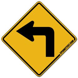 Sharp Left Turn