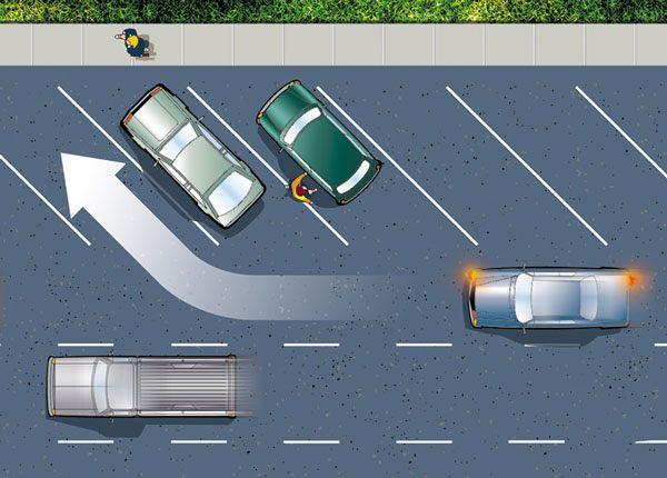 Estacionamiento en Ángulo