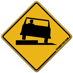 Florida Drivers Handbook >> Shoulder Drop Off | Warning Road Signs