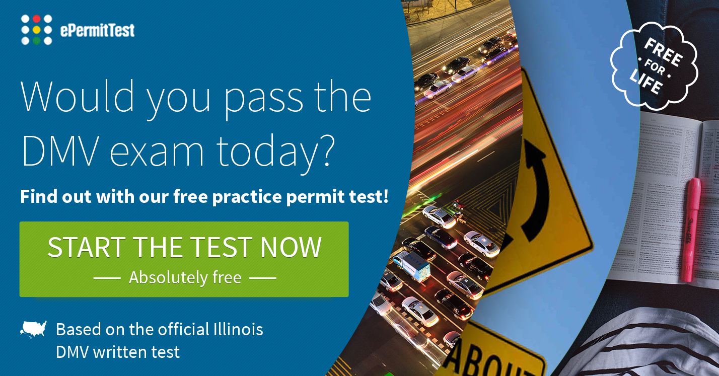 Permit Test Florida >> FREE Illinois Practice Permit Test 2018 | RULES & SIGNS