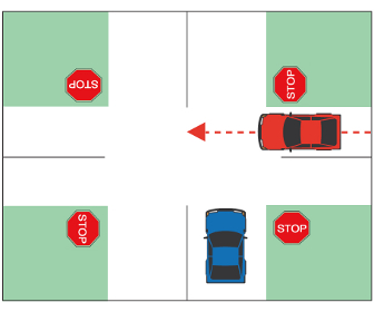 Stop Controlled Intersection