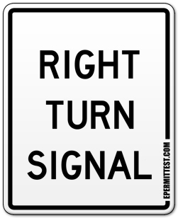 Right Turn Signal