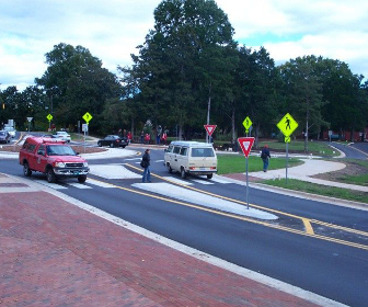 Roundabouts for Pedestrians