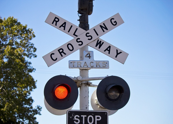 Railroad Crossing Lights and Gates