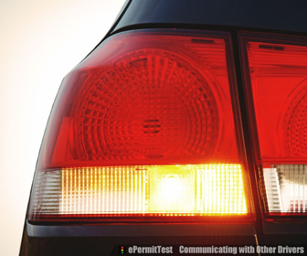 Use turn signals to communicate your intentions to other drivers