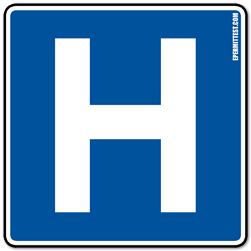 Hospital | Guide Road Signs