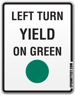 Left Turn Yield on Green