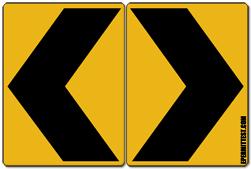 Chevron Signs