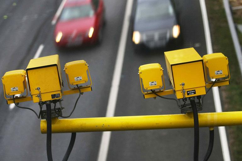 Enforcing speed limits with speed cameras