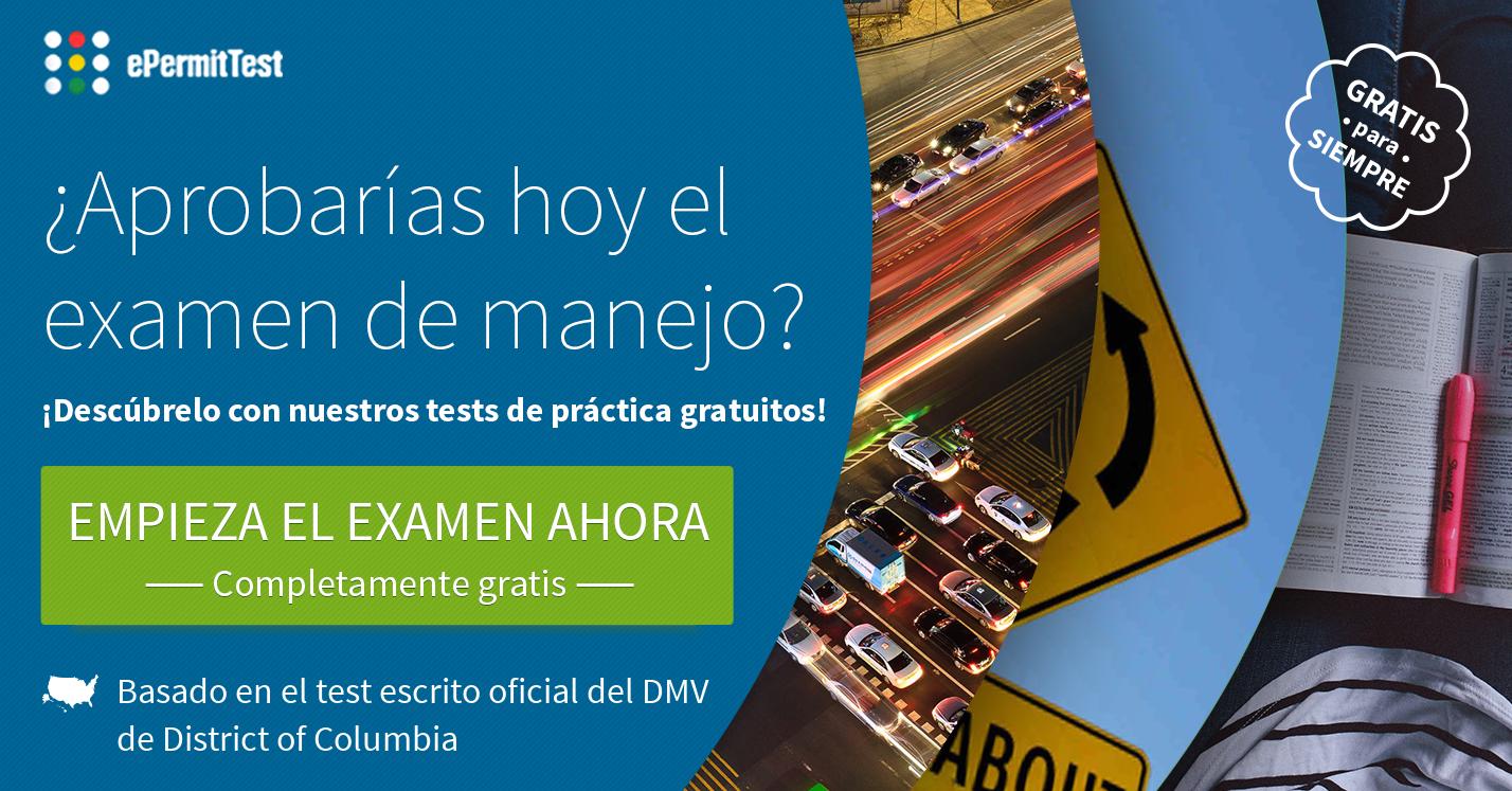 dmv dc manual en español