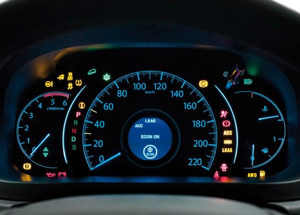 Car Dashboard Warning Lights