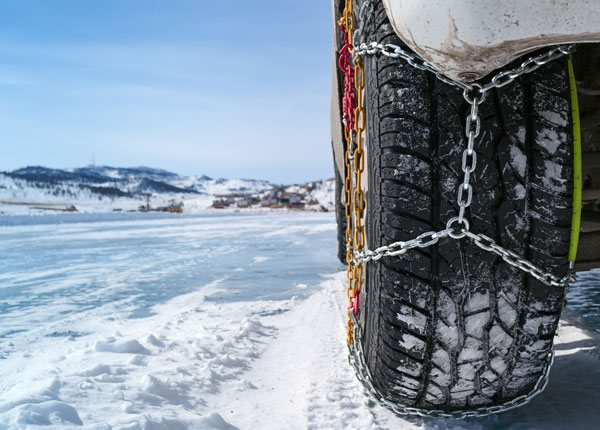 Usar Cadenas para Nieve
