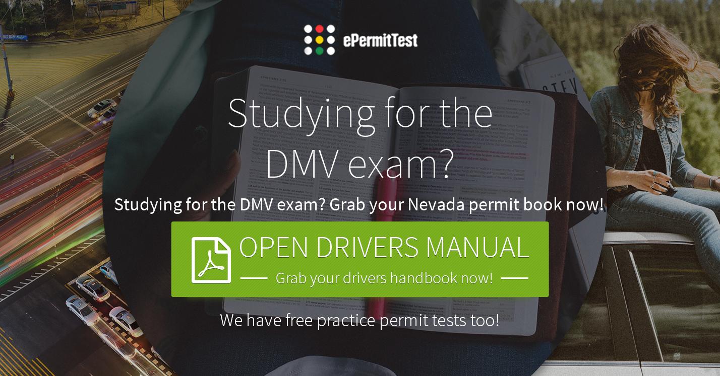 Nevada Dmv Drivers Handbook Nv 2018 W Practice Test