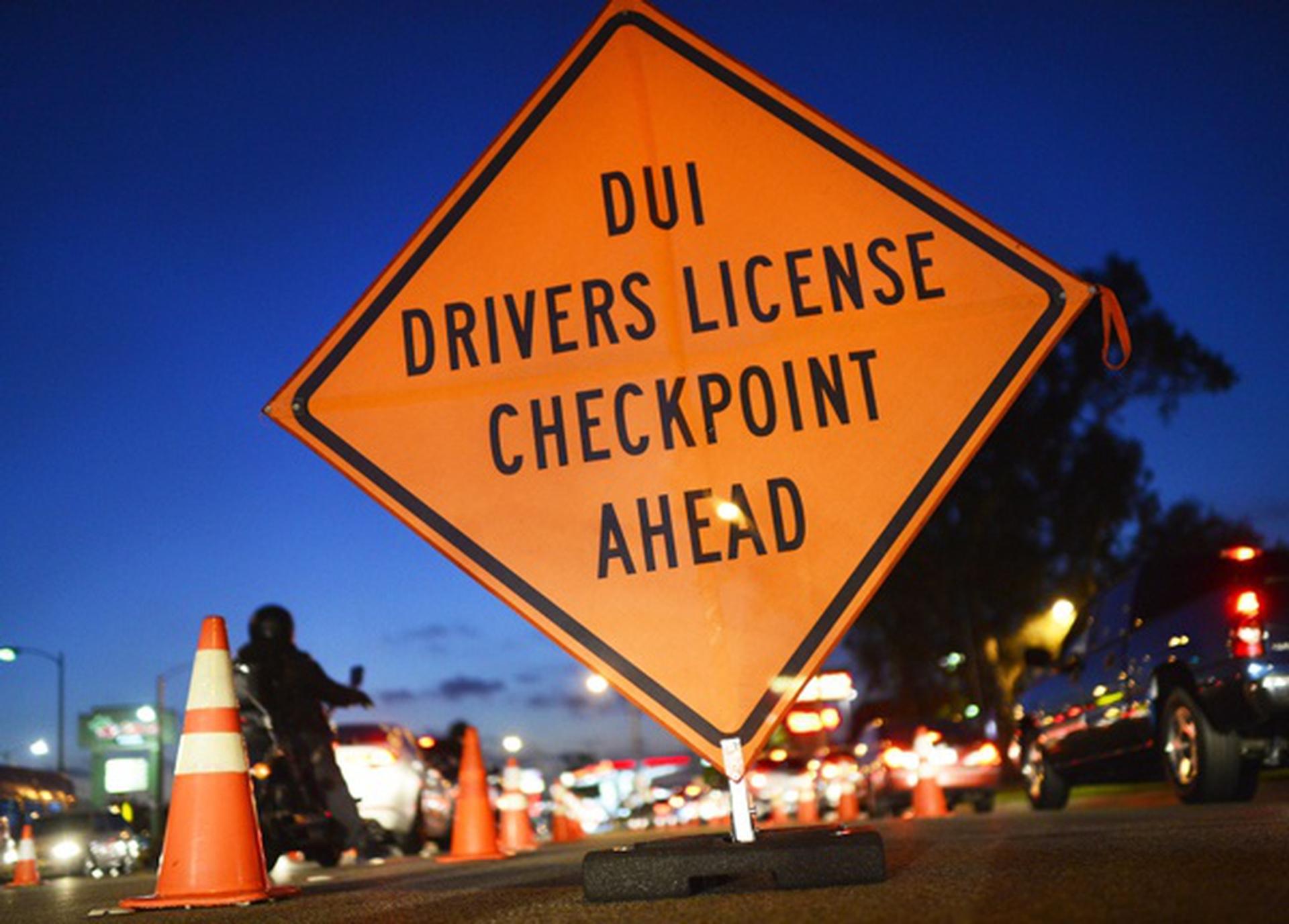DUI & DWI Driving Impairment Checkpoint
