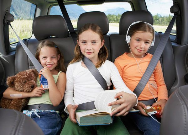 Child seat and restraint laws & regulations