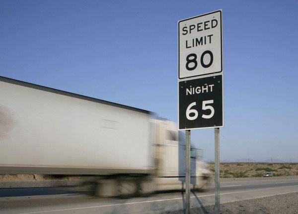 Driving Below the Posted Speed Limit