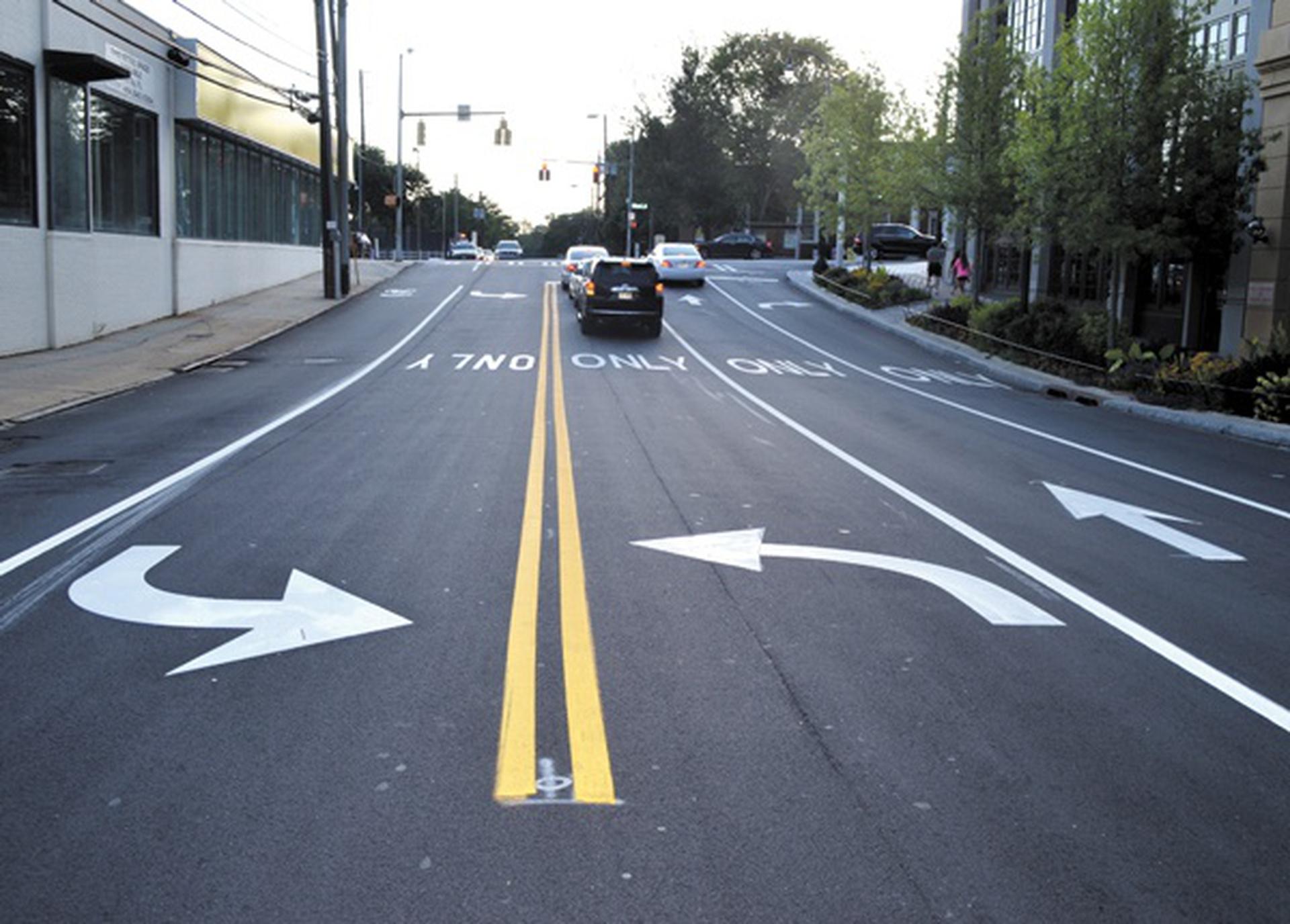 Standard Road Line Markings
