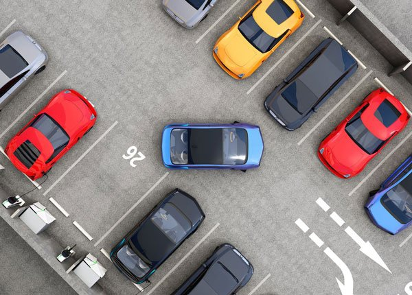 Choosing a Parking Space