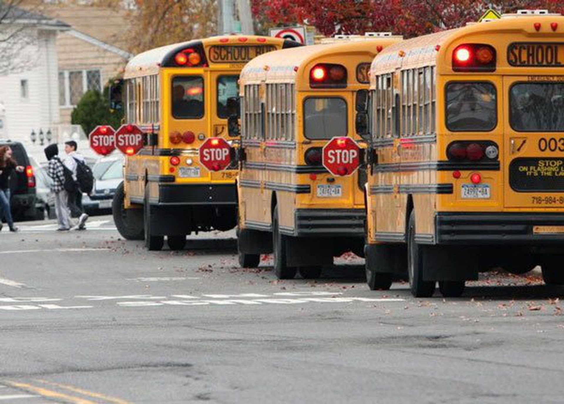 Right of Way Rules for School Buses