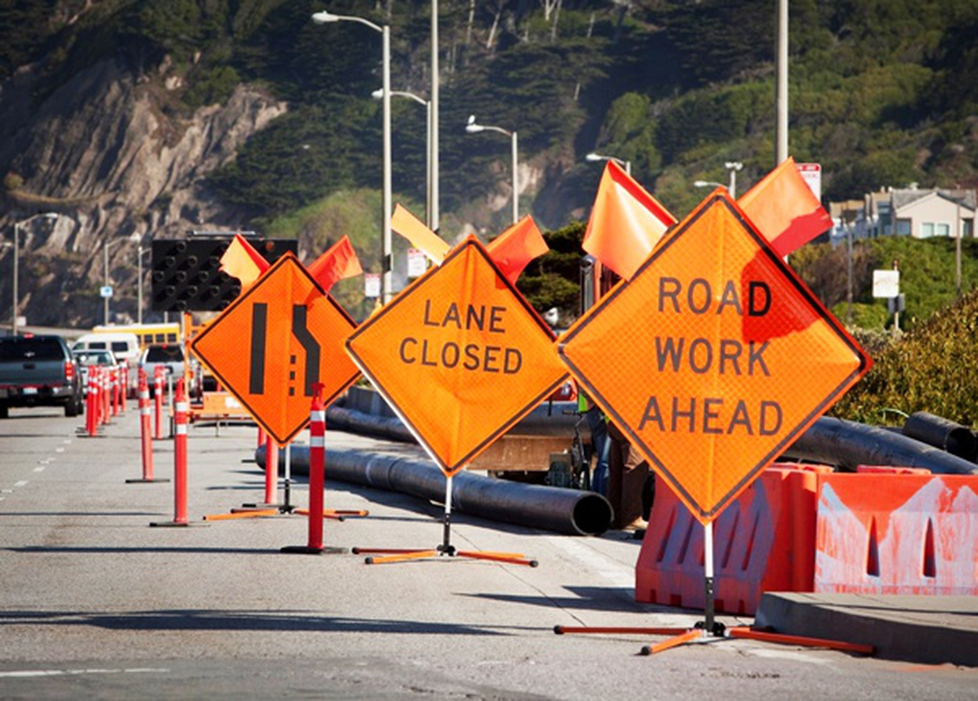 Highway Construction and Maintenance Signs